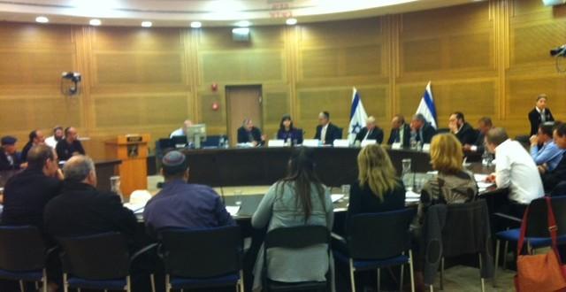 דיון הוועדה לביקורת מדינה הבוקר. צילום: גאיה הררי