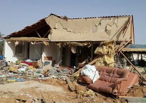 הפזורה הבדואית, מוסדות חינוך חרדים, דירות עמידר: לשליש מהאזרחים אין מיגון