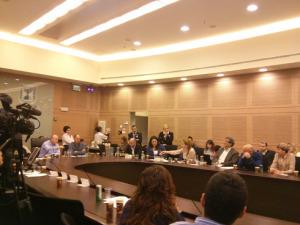 ועדת הכספים, נובמבר 2014
