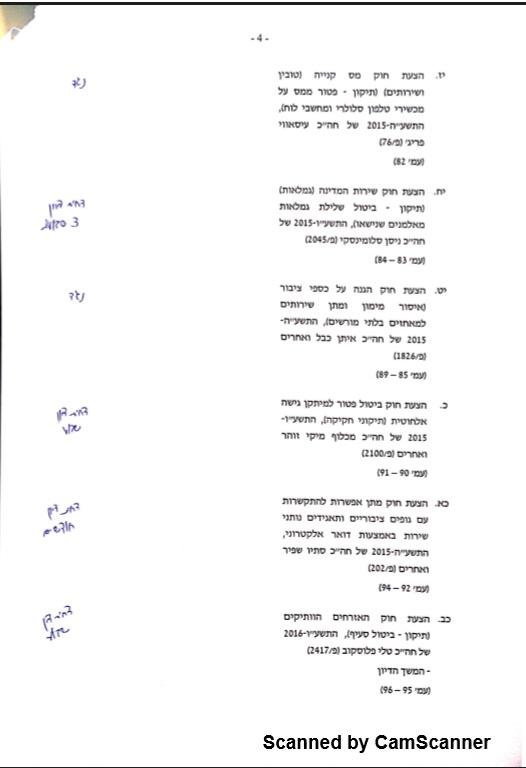 ועדת שרים 17.1 4