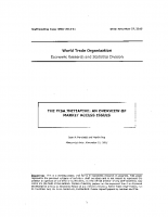 WTO – The TISA Initiative_ An Overview of Market Access Issues – 27-11-2013